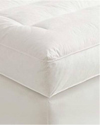 13cm Full Goose Down Mattress Topper Featherbed / Feather Bed Baffled