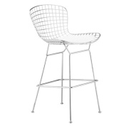 Fine Mod Imports Wire Counter-Height Chair