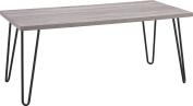Altra Furniture Owen Retro Coffee Table with Metal Legs, Sonoma Oak Gunmetal Grey