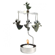 Trumpeting Angel Rotary Candleholder