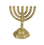 Menorah-Decorative Mini-Brass (7 Branched)-3