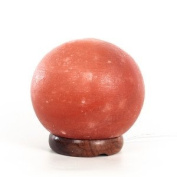 Black Tai Sphere Salt Lamp 15cm (large) with cord by Black Tai Salt Co. Guaranteed Authentic!