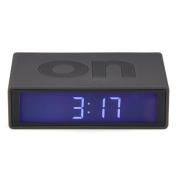 Flip On/Off Alarm Clock Grey - G1