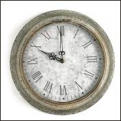 Galvanised Wall Clock