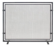 Pilgrim 18251 Home and Hearth Sinclair Single Fireplace Panel Screen, Natural Iron