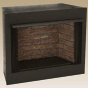 Monessen Gruf36c-f 90cm Radiant Face Circulating Vent-free Firebox With Cottage Clay Firebrick