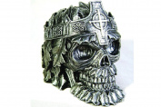 Greenman King Skull Ashtray Figurine