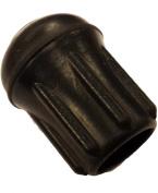 Herco Heavy Duty Black Rubber Tip (Size 17) - 8 pcs