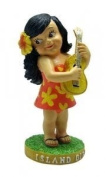 Hawaiian Dashboard Hula Doll Miniature Keili Island Girl
