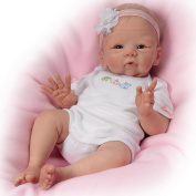 Tasha Edenholm Snuggle Bunny Lifelike Poseable Baby Doll by The Ashton-Drake Galleries