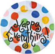 Happy Everything Big Platter - Bright