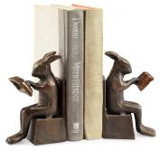 Studious Rabbit Bookends