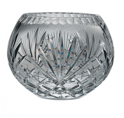 Majestic Gifts Hand Cut Crystal Bowl, 13cm , Rose