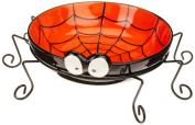 DII Spooks and Hoots Spider Ceramic Treat Bowl