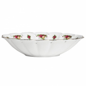 Royal Albert Old Country Roses Pierced Low Oval Bowl, 25cm