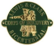 Lewis and Clark - Hiking Stick Medallion