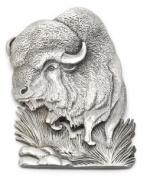 Buffalo Pewter Medallion