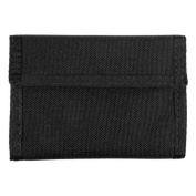 Elite Survival Systems Elite Nylon Badge Wallet, Black w/ ID Card Window