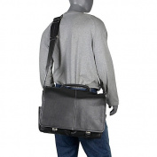 AmeriLeather Legacy Leather Woody Laptop Messenger Bag