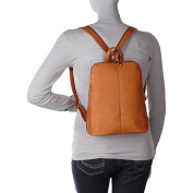 Le Donne Leather Womens iPad/eReader Backpack Sling