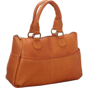 Le Donne Leather Slip Pocket Satchel