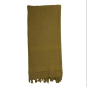 Rothco Shemagh Solid Coloured Tactical Scarf, Olive Drab