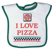 Raindrops 6973PI Raindrops -I Love Pizza- Screen Printed, Green