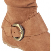 Brinley Co. Women's August Slouchy Wide Calf Boots