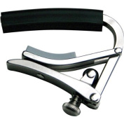 Stainless Steel Deluxe Guitar Capo