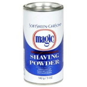 ORIGINAL MAGIC (DEPILATORY) NO RAZOR SHAVING POWDER 127GM STOPS RAZOR BUMPS REGULAR STRENGTH - BLUE