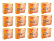 12 Pack of Smooth Appeal Facial Hair Remover Wax - Microwave Formula