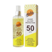 Malibu Once Daily Clear Protection Lotion Spray with SPF50 200 ml