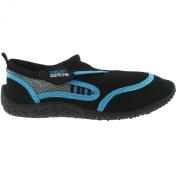 Urban Beach Boys Reed Aqua Shoes Black/Blue Size 2