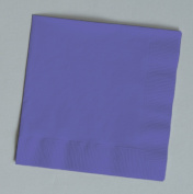 100 gorgeous Purple beverage/cocktail napkins for wedding/party/event, 2ply, disposable, 13cm x 13cm , Made in USA