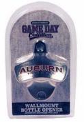 NCAA Auburn Tigers Bottle Opener Metal Retro Wall Mount, Small, Metallic with Team Colour