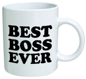 Best boss ever - 330ml Coffee Mug - Funny Inspirational and sarcasm - By A Mug To Keep TM