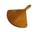 J.K. Adams 43cm -by-38cm Maple Wood Artisan Cutting Board, Ginkgo-Shaped
