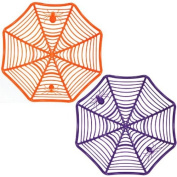 Halloween Plastic Spider Web Bowl - One