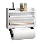 Chef Buddy The Ultimate Kitchen 3-in-1 Dispenser Paper Towel Holder