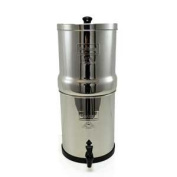 Big Berkey Water filter with 4 18cm Ceramic filters and 4 Free PF-4 Fluoride filters