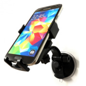 Windscreen Mobile Phone Holder Mount 360 Rotation iPhone Xperia HTC One for Samsung Galaxy Note Strong Suction