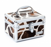Urbanity Giraffe Aluminium Vanity Case / Jewellery Box
