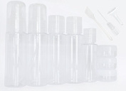FiveSeasonStuff® 11 Piece Holiday Air Travel Customs Approved 50ml Bottle Kit, Complies with International Airport Travel Restrictions TC3