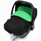 iSafe Buddy Jet Carseat Footmuff - Leaf