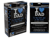 I Love Dad - A4 Certificate 'the best dad in the world'