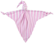 Mussi Cuski Sweetie Pink and White Stripes
