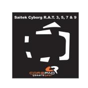 Corepad CS28100 Skatez Mouse Feet for Saitek Cyborg RAT 3,5,7 and 9