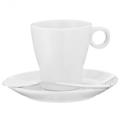WMF Barista Espresso Cup with Saucer and Paddle