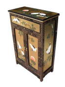 Gold Leaf Cabinet, Oriental Chinese Furniture