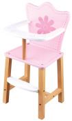 Lelin Childrens Kids Pretend Play Baby Doll Dolls House Feeding High Chair